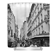 Small Street In Paris Shower Curtain