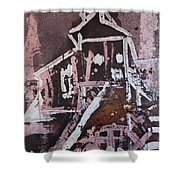 Small Tower 2 Shower Curtain