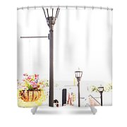 Small Town Shower Curtain