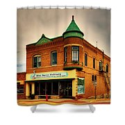 Small Town America Shower Curtain