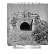 Small Tunnel Shower Curtain