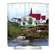 Small Village Shower Curtain