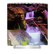 Small Waterfalls  Shower Curtain