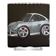Smart Porsche Shower Curtain