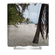 Smathers Beach - Key West Shower Curtain