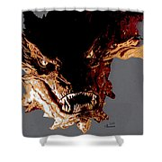 Smaug The Terrible Shower Curtain