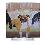 S.m.a.w.l Fosters Shower Curtain