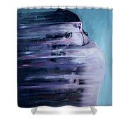 Smear Shower Curtain
