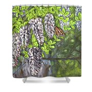 Smell The Moutain Laurel Shower Curtain