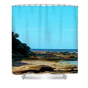 Smell The Sea And Feel The Sky  Shower Curtain