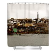 Smelter Works Shower Curtain