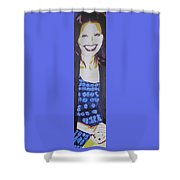 Smile Of Beauty Shower Curtain