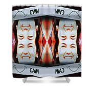 Smilecam 1 Shower Curtain