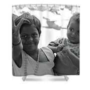 Smiles.. Shower Curtain