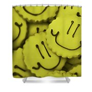 Smiley Face Shower Curtain
