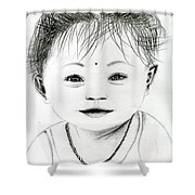 Smiling Child Shower Curtain