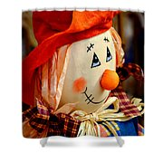 Smiling Face 2 Shower Curtain
