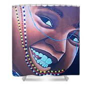 Smiling Kid Shower Curtain