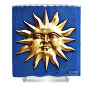 Smiling Sunshine Shower Curtain
