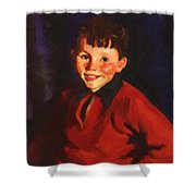 Smiling Tom Thomas Cafferty 1924 Shower Curtain