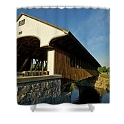 Smith Millennium Bridge Shower Curtain