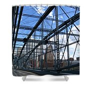 Smithfield Street Bridge Three Shower Curtain
