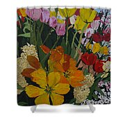 Smith's Bulb Show Shower Curtain