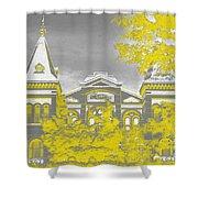Smithsonian Chrome Shower Curtain