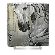 Smoke And Ash Shower Curtain