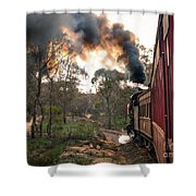 Smoke And Fire Shower Curtain