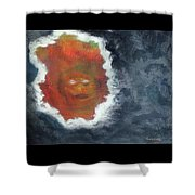 Smoke And Mirros Shower Curtain