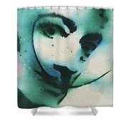 Smoke Bomb Dali 1 Shower Curtain