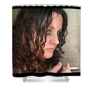 Smoke Color Shower Curtain