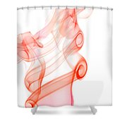 smoke IX Shower Curtain