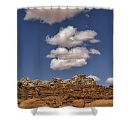 Smoke Signals Shower Curtain
