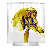 smoke VIII c Shower Curtain