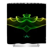 smoke XIV mb2 Shower Curtain