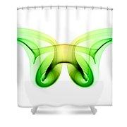 smoke XXI ma2 Shower Curtain
