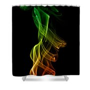 smoke XXII Shower Curtain