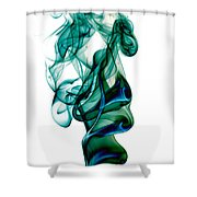 smoke XXIII Shower Curtain