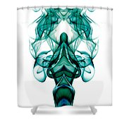 smoke XXIII ma1 Shower Curtain