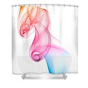 smoke XXV Shower Curtain