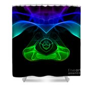 smoke XXXII mb1 Shower Curtain