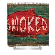 Smoked Fish Shower Curtain