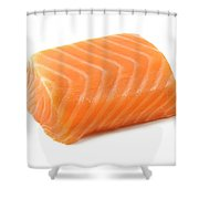 Smoked Salmon Fillet Shower Curtain