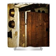 Smokehouse At The Old Farm Shower Curtain