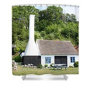 Smokehouse. Denmark Shower Curtain