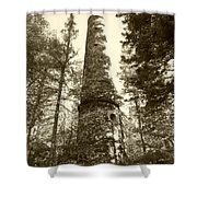 Smokestack Shower Curtain