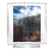 Smokey Mountain Ridge Shower Curtain