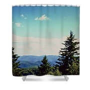 Smokey Mountains, Tn Shower Curtain